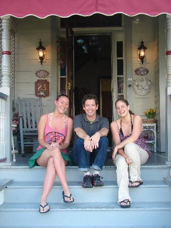 Beauclaire's Bed and Breakfast: Me, Mark, and my friend