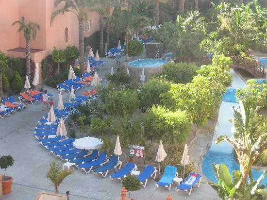 Playacalida Spa Hotel: la piscine couloir 1