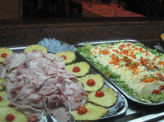 Playacalida Spa Hotel: buffet