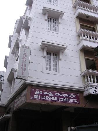 Sri Lakshmi Comforts : Hotels Front view