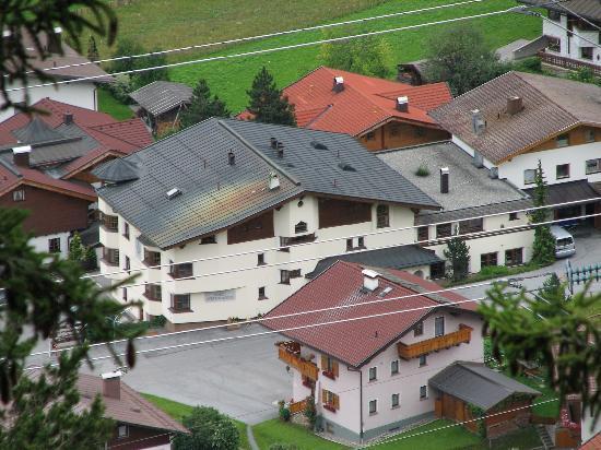 Hotel Zur Pfeffermühle: Blick vom Berg