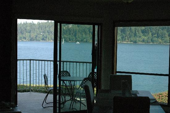 The Resort at Port Ludlow: View from 2-bedroom appartment