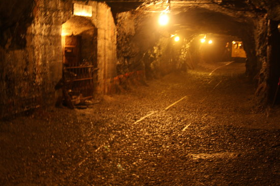 No. 9 Coal Mine & Museum: Inside the mine