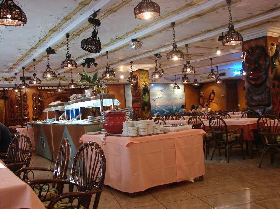 Santa Monica: the dinner room