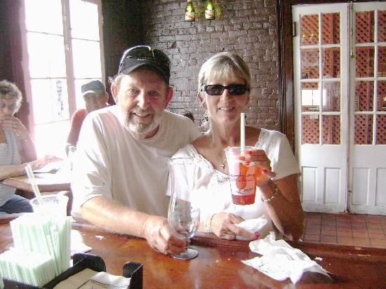 Pear Tree Inn Lafayette: After our stay at Pear Tree Inn we drove right to Pat O'Brians in The French Quaters for a Hurri