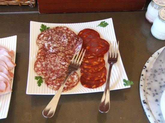 BEST WESTERN La Palmeraie : meats