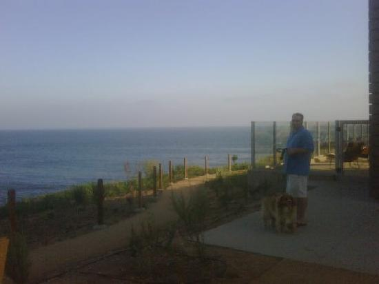 Terranea Resort: Next to one of the pools overlooking the ocean