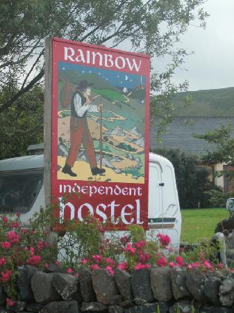 Rainbow Hostel: sign