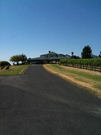 Walla Faces Inn at the Vineyard: view of the inn