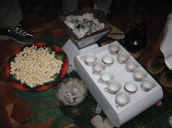 Ethio Comfort Guest House : Coffee Ceremony