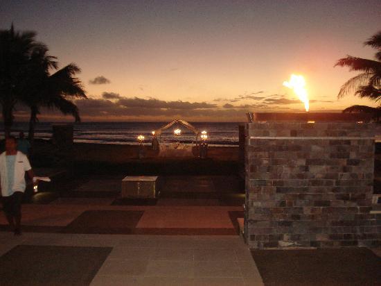 InterContinental Fiji Golf Resort & Spa: outlook from kama lounge