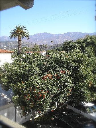 Santa Barbara House by Hyatt: View from room 245 Parkside