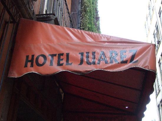 Hotel Juarez: 入口