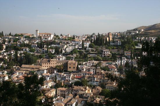 Hotel Carlos V: Views of Albayzin