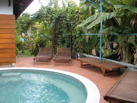 Betel Garden Villas : Spa pool