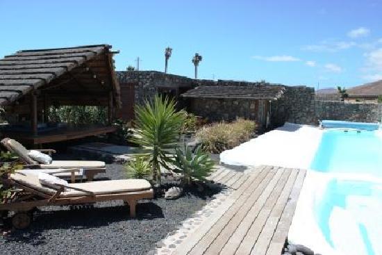 Arrieta, Hiszpania: Pool area