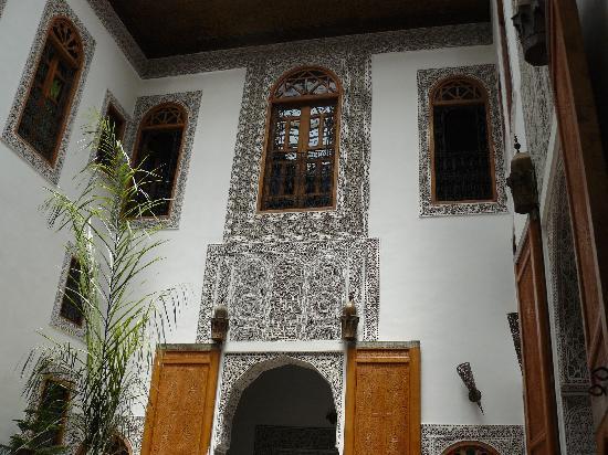 Riad La Cle de Fes: Une vue de l'intérieur