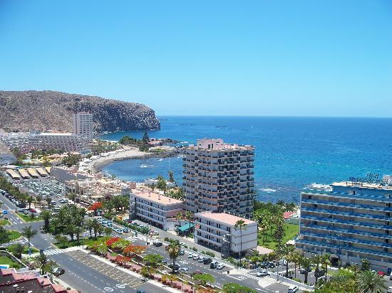 TRYP Tenerife: View from 12th Floor Balcony