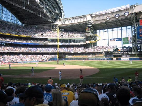 Iron Horse Hotel : Miller Park is beautiful!