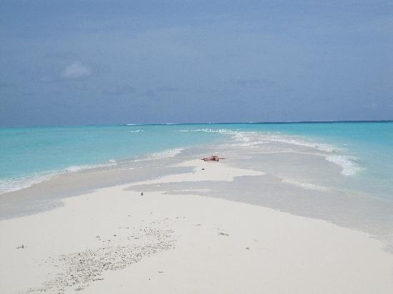 Остров Курамати: sand bank