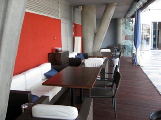 Zira Hotel : Restaurant terrace