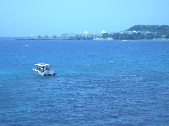 Grand Palladium Jamaica Resort & Spa: GP from across the bay(from a fort)