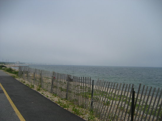 Along the Ocean on the Shining Sea Bikeway