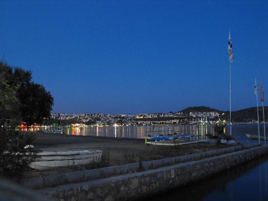 Summer Garden Apart Hotel: harbour at night