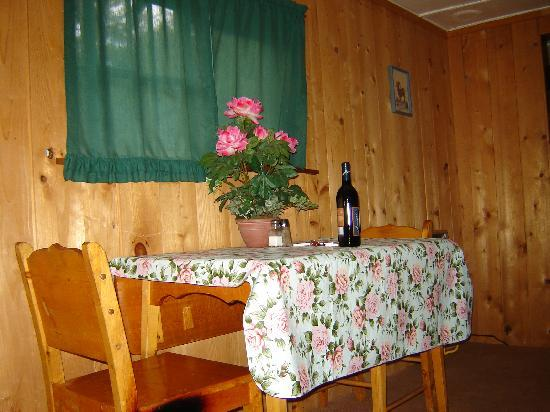"Loveland Heights Cottages: Our ""dinning room"""
