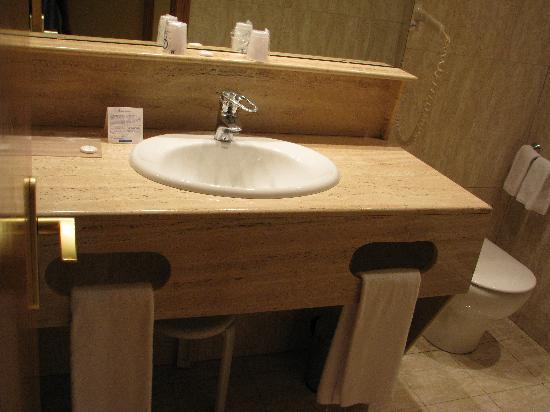 Hotel Albufera: salle de bain