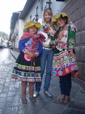 Cusco, Peru: Con peruanitas...
