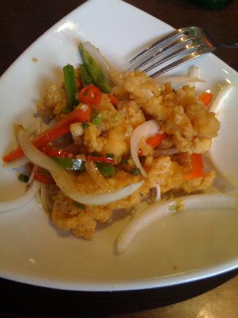 Wokkas: House speciality, Squid