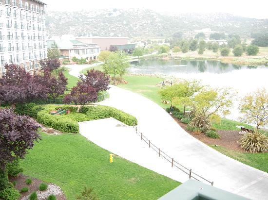 Barona Resort & Casino: Looking toward the golf course