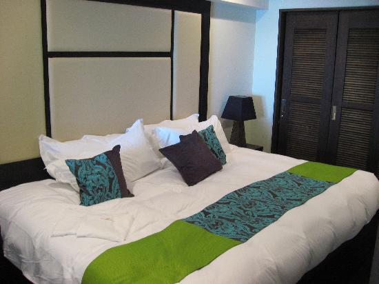 Kafuu Resort Fuchaku Condo Hotel : ベッドルーム