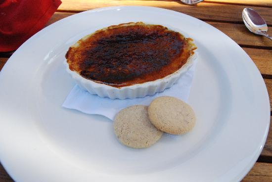 King Estate Restaurant & Tasting Room : creme brulee