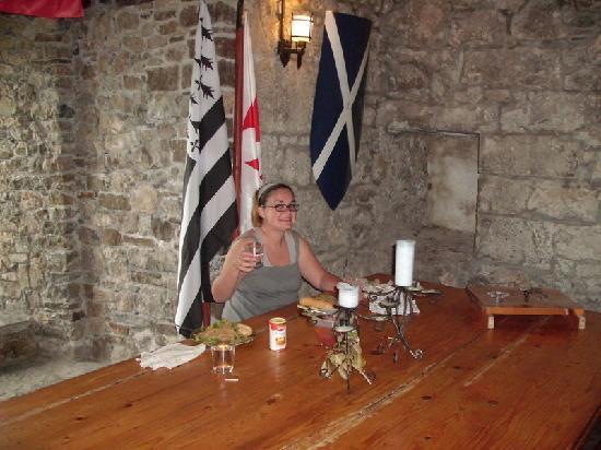 Foulksrath Castle: dining room