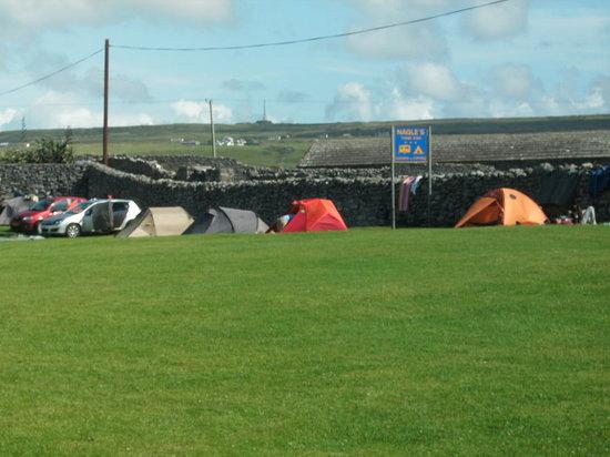 Nagle's Doolin Camping & Caravan Park: tents