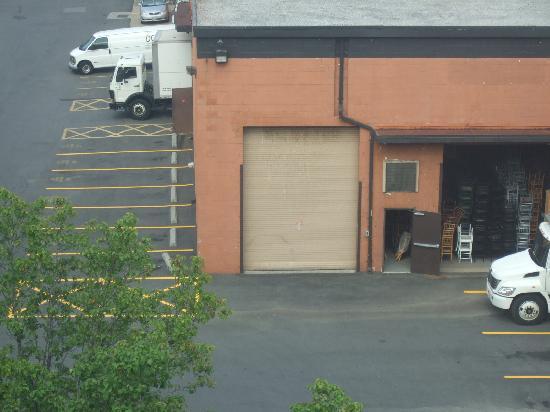 Comfort Inn Pentagon City: view from my window (1)