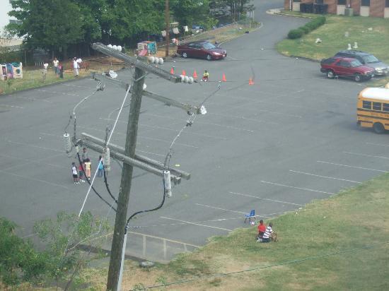 Comfort Inn Pentagon City: view from my window(2)