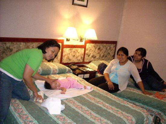 Castle Peak Hotel: resting