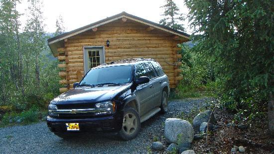 Denali Highway Cabins : Bunglow by the entrance