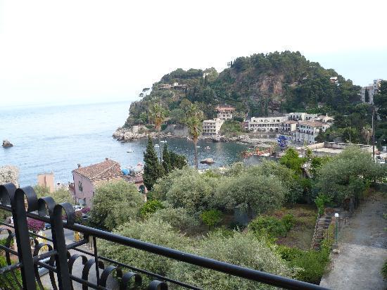 Ipanema Hotel: View over Mazzaro from room balcony