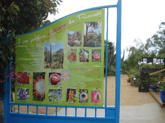 Jardin Exotique et Botanique de Roscoff : Entrance