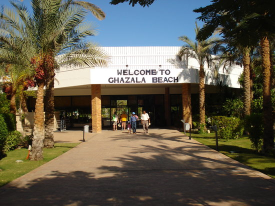 Ghazala Beach Hotel : Eingang Ghazala-Beach