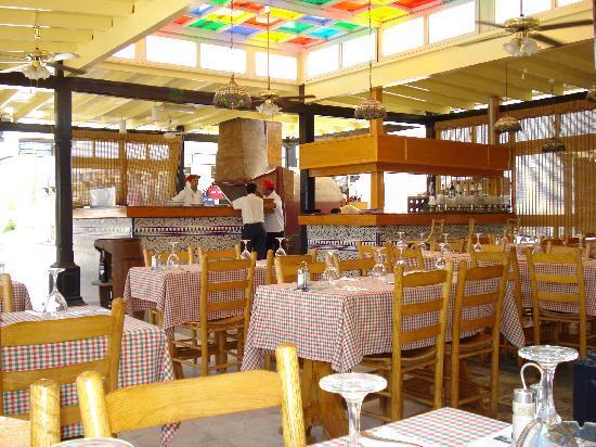 Ghazala Beach Hotel : Da Franco Pizzeria gehört zum Hotel