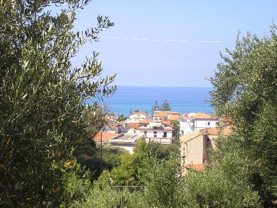 Ascea, Italien: uno scorcio