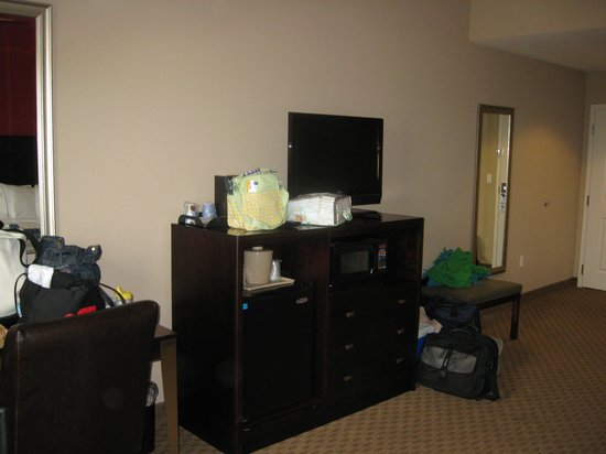 Holiday Inn Express Hotel & Suites Crestview :                   The Entertainment area