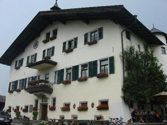 Maishofen, Austria: The front entrance