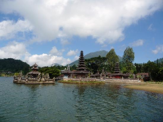 Tabanan, Endonezya: Pura Ulun Danu Bratan