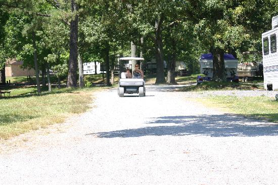 Benton, KY: golf cart